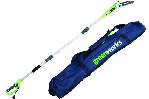 GreenWorks 20192 6.5 Amp 8-Inch Corded Pole Saw with Case